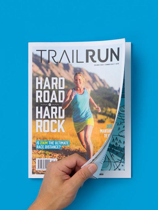 Trail Run Magazine print